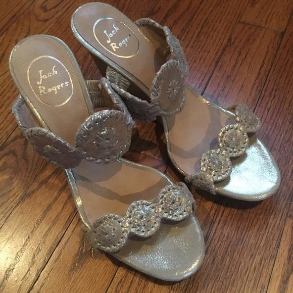 218ab1c7b1bd Jack Rogers Shoes - 💥Sale Jack Rogers wedge Luccia sandals size 8 EUC